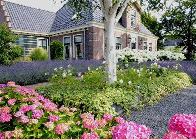 Landelijke tuin in Wognum