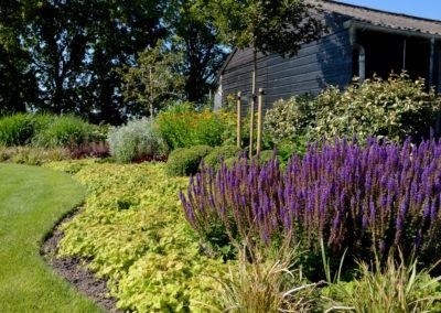 Tuinontwerp landelijk tuin in berkhout